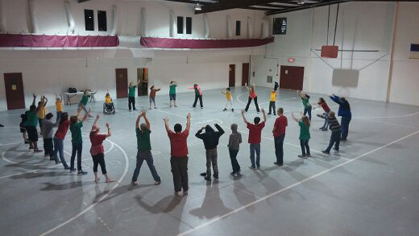Advance Learning Center - Morning routine stretching